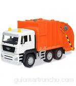 DRIVEN Camión de Basura Naranja (71110) Multicolor (Branford Ltd. 1)