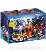 PLAYMOBIL Bomberos Camión Bombero con luz y Sonido City 35.1 x 25.1 x 15.2 (5363)
