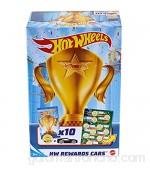 Hot Wheels Pack 10 Coches de Juguete Sorpresa con recompensas y Pegatinas Regalo para niños +3 años (Mattel GWN97)