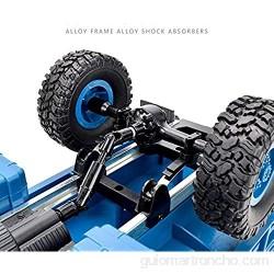 MUMUMI 4WD Militar Bigfoot escalada rc camiones anti-caída for absorber choques y de carga USB RC Racing Car Circuito 180 Power Metal control remoto de coches de juguete de regalo de cumpleaños del