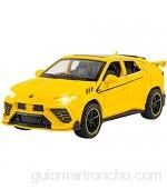 Auto Modelo 1:32 Coches De Juguete De Aleación De Simulación Diecast Pull Back SUV Modelo De Coche Juguetes para Niños Vehículos Todoterreno Decoraciones