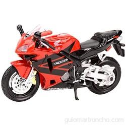 Bleyoum Auto Modelo 1:18 Cbr600rr Vehículos De Fundición Estática Coleccionables Pasatiempos Modelo De Motocicleta Juguetes