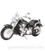 Bleyoum Auto Modelo 1:18 Kawasaki-Vulcan Static Die Cast Vehículos Coleccionables Pasatiempos Motocicleta Modelo Juguetes