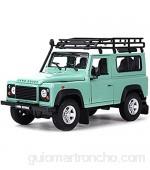 Bleyoum Auto Modelo 1:24 Landrover Defender SUV Car Static Die Cast Vehículos Coleccionables Modelo De Coche Juguetes