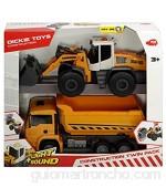 Dickie-227-3726008 2 vehículos de Juguete Multicolor (3726008)