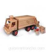 Fagus 10.66 Madera vehículo de Juguete - Vehículos de Juguete (Madera Marrón 43 cm)