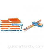 MattelHot Wheels Coche Y Megapista Accesorios para Pistas Y Coche De Juguete Color/Modelo Surtido + Track Builder Pack De Accesorios para Pistas Booster