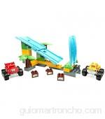 Mega Bloks- Thomas y Sus Amigos Rampas selv&aacuteticas Multicolor (Mattel Spain DPH78)