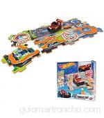 Mondo Motors – Hot Wheels Tile Track Set – Pista encajable con Coche para niños – 66094