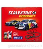 Scalextric- Crazy Rally Compact Circuito (Scale Competition Xtreme SL 1)