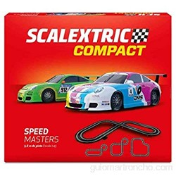 Scalextric- Speed Masters Compact Circuito (Scale Competition Xtreme SL 1)