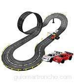 XXT Juguete eléctrico para niños Pista de carreras Pista de deslizamiento Coche de control remoto grande doble pista padre-chil