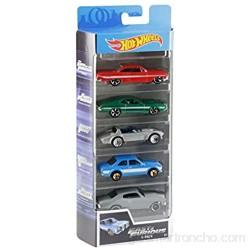 Hot Wheels - Fast and Furious Pack de 5 coches de juguete para niños +3 años (Mattel GGH46) color/modelo surtido