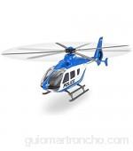 Dickie Toys Unit policía helicóptero de juguete (metal 2 modelos diferentes 21 cm) multicolor (203714006)  color/modelo surtido