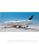 JFOX JF7474035 1/200 THAI AIRWAYS STAR ALLIANCE B747-4D7 REG: HS-TGW CON SOPORTE