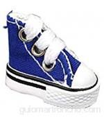 Shenrongtong Mini Zapato para Dedos para Niños Y Adultos Lindo Zapato De Diapasón De Patineta para Diapasón Finger Breakdance Zapatos De Muñeca Llaveros 4 Colores