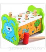 KLEIN Design Pounding Bench Banco Trabajo martillar Madera con Mazo hermoso y colorido diseño para niños mayores de 18 meses.