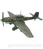 lujiaoshout Ornamento Puzzle Avión Modelo Juguetes 1/33 Alemán Ju-87 R-2 Stuttgart Dive Bomber Kids Toys 12.6 pulgadas x 16 pulgadas Exquisito
