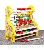 Actividad de Juguetes de Cubo Actividad Cubo con El Grano Laberinto - Juego De Cubos For Bebés Y Niños Pequeños Enseña Cognitivas Y Motoras Juguetes de Aprendizaje Preescolar