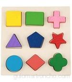 Juguetes de madera Tablero de clasificación geométrica Formas matemáticas de color Montessori Rompecabezas geométrico Tablero Perilla Material de educación temprana Juguete sensorial[1/1]