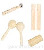Sonoaud Timbre de mano ampliamente uso ligero Timbre de mano accesorios ligeros compatibles con niños 1 juego