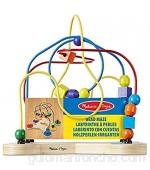 Melissa & Doug Laberinto clásico de cuentas (Juguete educativo de madera)  color/modelo surtido