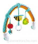 Hape- Arco de Actividades Amigos del jardín Color Turquesa (E0023)