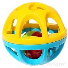 Bolas bebé Infantil con textura Multi bola de la mano del bebé del traqueteo de la bola de la enseñanza Puzzle Soft Touch de la bola del juguete del bebé Textura Conjunto de bola multi sensorial