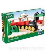 BRIO 33424 trene de Juguete - Trenes de Juguete (Multicolor Madera 2 año(s) CE FSC 806 mm 518 mm)