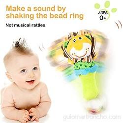 Migimi Sonajero de Juguete Muñeca Juguete sonajero para bebé Bebé Música Electrónica Rompecabezas Juguete Historieta Linda para Menores