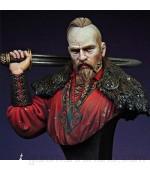 Risjc 1/12 Resina Busto Carácter Modelo Antiguo Samurai Europeo Modelo Kit Sin Ensamblar y Sin Pintar //N07316