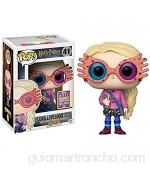 VBCGGGG Pop Luna Lovegood con Vidrio Encantadora Figura de acción de Vinilo con una Caja Exquisita - 3.9 Pulgadas -A