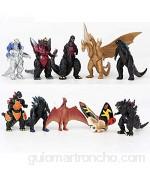 10pcs Godzilla vs Kong Figura Figura de acción Figura de marioneta de Anime Godzilla Juguete de PVC Modelo de Personaje de Anime Kong Figura de Estatua de Personaje Juguete