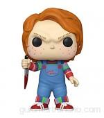 Funko- Pop Movies: Chucky-10 Chucky Figura Coleccionable Multicolor (49002)