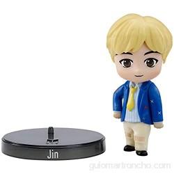 BTS mini figura de vinilo Jin miembro banda coreana (Mattel GKH76)