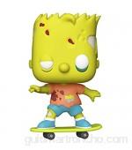 Funko- Pop Animation: Simpsons-Zombie Bart Figura Coleccionable Multicolor (50139)