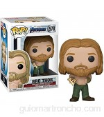 Funko- Pop Marvel: Endgame-Thor w/Can Collectible Toy Multicolor (45142)