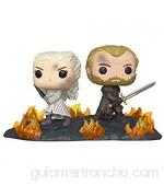 Funko - Pop! Moment: Game of Thrones - Daenerys & Jorah B2B w/Swords Figura Coleccionable Multicolor (44824)
