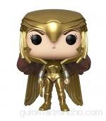 Funko - Pop! Wonder Woman 1984: Wonder Woman (Gold Power Pose) Figura Coleccionable Multicolor (46658)