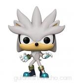 Funko- Pop Games Sonic 30th-Silver The Hedgehog Figura coleccionable Multicolor (51965)