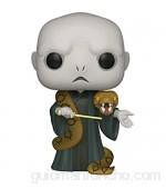 """Funko- Pop Harry Potter 10"""" Voldemort w/Nagini S10 Figura coleccionable Multicolor (48037)"""