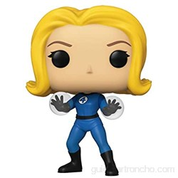 Funko- Pop Marvel: Fantastic Four-Invisible Girl Collectible Toy Multicolor (44986)