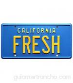 Fresh Prince of Bel Air | FRESH | Metal Stamped License Plate
