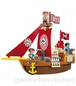 Ecoiffier Abrick 30230 Barco Pirata con Bloques de construcción Color