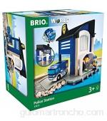 BRIO Comisaría policía Madera Color Azul (63381300)