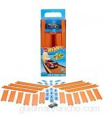 Hot Wheels Track Builder tramos de pista con vehículo incluido accesorios para pistas de coches de juguete (Mattel BHT77)  color/modelo surtido