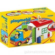 PLAYMOBIL 1.2.3 Camión+garaje color carbón (70184)  color/modelo surtido