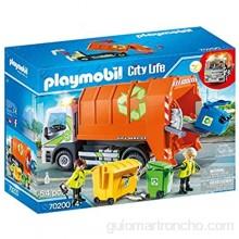 PLAYMOBIL City Life Camión de Reciclaje A partir de 4 años (70200) talla única