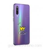 Suhctup Compatible con Xiaomi Mi 9 Se Funda Silicona Transparente con Dibujos Lindo Cárcasa Ultrafina Suave Gel TPU con Animados Diseño Patrón Antigolpes Proteccion Cover,Corona 1