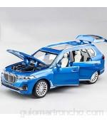 Xolye Modelo de aleación de aleación de aleación de coches de juguete de juguete educativo y de juguete educativo para niños en 3 colores Simulación puede abrir la puerta Metal Chico resistente a la c